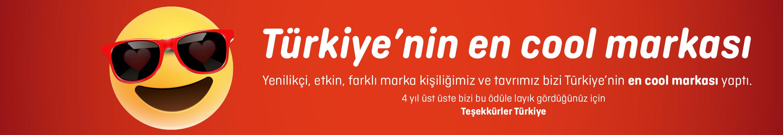 Türkiye'nin en cool markası