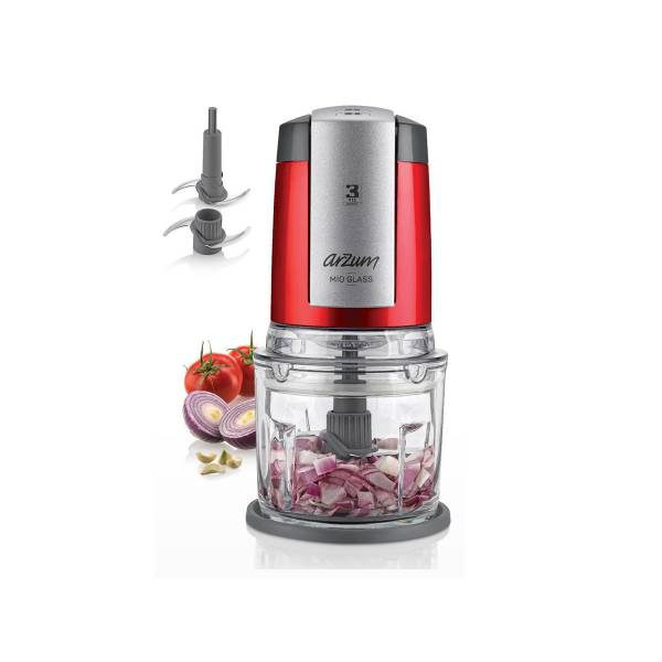AR1043 Mio Glass Cam with Glass Bowl- Pomegranate