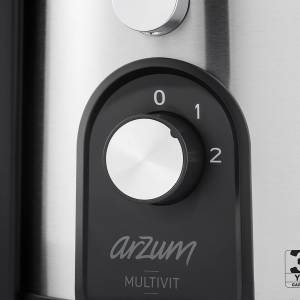 AR1060 Multivit Katı Meyve Sıkacağı - Paslanmaz Çelik - Thumbnail