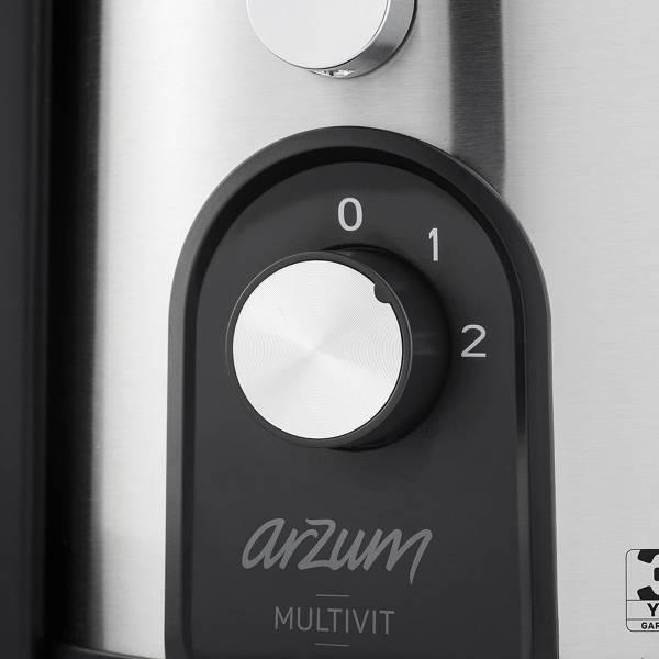 AR1060 Multivit Katı Meyve Sıkacağı - Paslanmaz Çelik