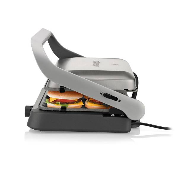 AR2001 Tostçu Delux Grill and Sandwich Maker - Stainless Steel