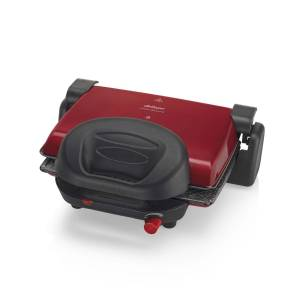 AR2012 Prego Granite Izgara Ve Tost Makinesi - Kırmızı - Thumbnail