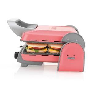 AR2013 Panini Color Izgara Ve Tost Makinesi - Mercan - Thumbnail
