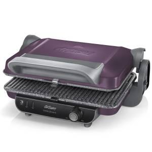 AR2021 Panini Granite Grill and Sandwich Maker - Deep Plum - Thumbnail