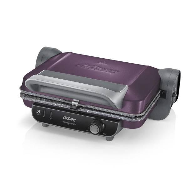 AR2021 Panini Granite - Mürdüm Izgara Ve Tost Makinesi - Mürdüm