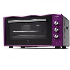 - AR2034 Cookart Color 50Lt Çift Camlı Fırın - Mürdüm