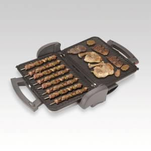 AR227 Marino Grill and Sandwich Maker - Grey - Thumbnail