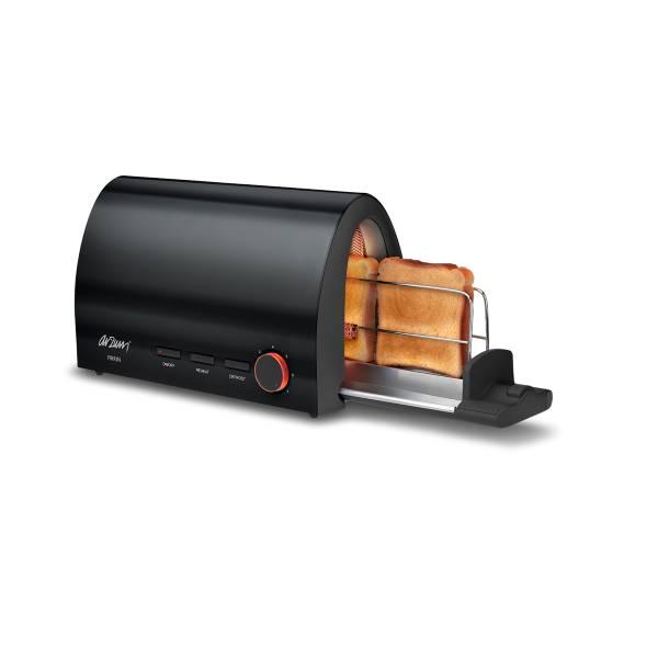 AR232 Fırrın Ekmek Kızartma Makinesi - Siyah