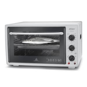 AR253 Cookart Midi Fırın - Beyaz - Thumbnail