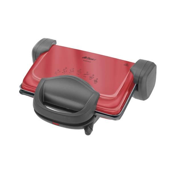 AR287 Tostani Izgara Ve Tost Makinesi - Kırmızı
