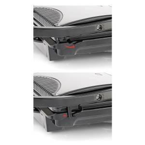 AR297 Panimini Midi Tost Makinesi - Paslanmaz Çelik - Thumbnail