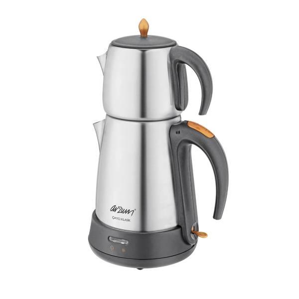 AR3004 Çaycı Klasik Çay Makinesi - Mat Inox