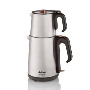 - AR3023 Çaycı Heptaze Çay Makinesi - Paslanmaz Çelik