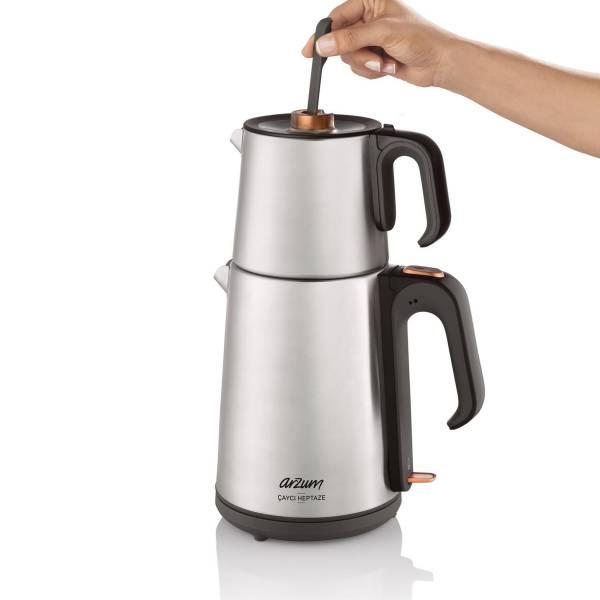 AR3023 Çaycı Heptaze Tea Machine - Inox