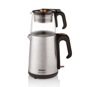 - AR3024 Çaycı Heptaze Çay Makinesi - Paslanmaz Çelik