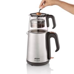AR3024 Çaycı Heptaze Çay Makinesi - Paslanmaz Çelik - Thumbnail