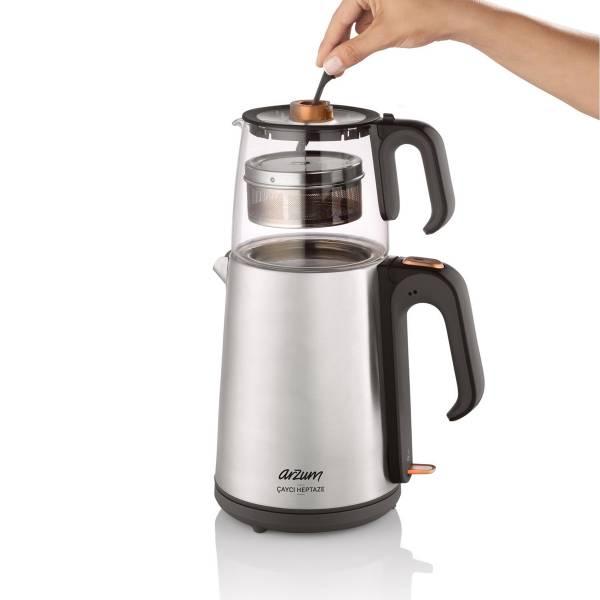 AR3024 Çaycı Heptaze Çay Makinesi - Paslanmaz Çelik