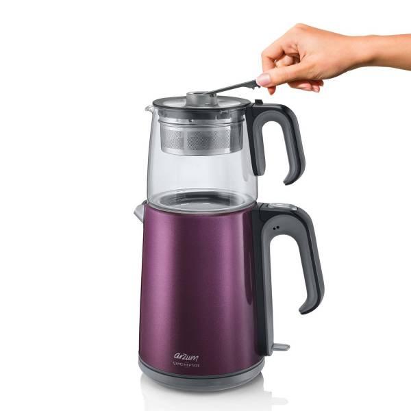 AR3031 Çaycı Heptaze Çay Makinesi - Mürdüm