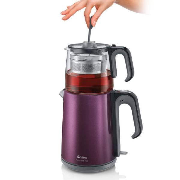 AR3031 Çaycı Heptaze Tea Machine - Deep Plum