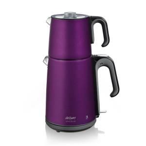 - AR3042 Çaycı Delux Çay Makinesi - Mürdüm