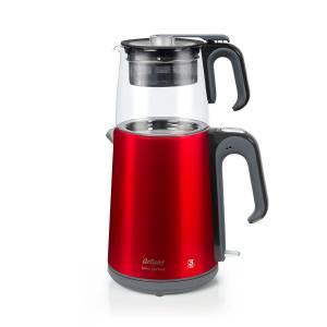 - AR3044 Çaycı Heptaze Çay Makinesi - Cam - Nar