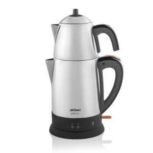 - AR3051 Çaycı Lux Çay Makinesi - Paslanmaz Çelik