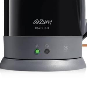 AR3055 Çaycı Lux Çay Makinesi - Siyah - Thumbnail