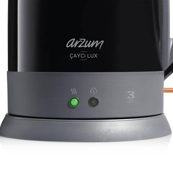 AR3055 Çaycı Lux Çay Makinesi - Siyah