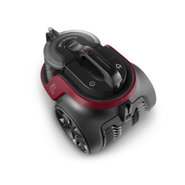 AR4092 Olimpia Line Cyclone Filter Vacuum Cleaner - Claret Red