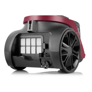 AR4092 Olimpia Line Cyclone Filter Vacuum Cleaner - Claret Red - Thumbnail
