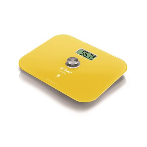 AR5034 Colorfit Eco - Friendly Glass Bathroom Scale - Yellow
