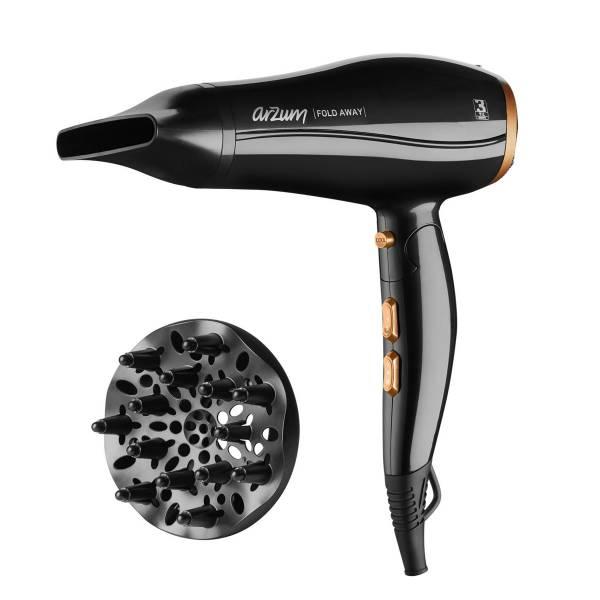 AR5046 Fold Away Hair Dryer - Black