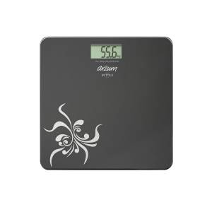 - AR550 Sottile Digital Glass Bathroom Scale - Black