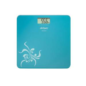 - AR550 Sottile Digital Glass Bathroom Scale - Blue