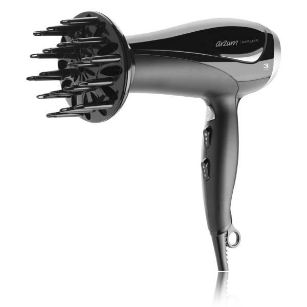 AR576 Hairstar İyonlu Saç Kurutma Makinesi - Siyah