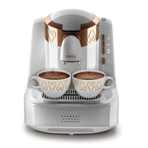 - OK001 OKKA Türk Kahve Makinası - Beyaz