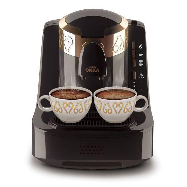 OK001 OKKA Türk Kahve Makinası - Siyah