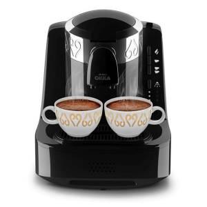 - OK002 OKKA Türk Kahve Makinesi - Krom - Siyah