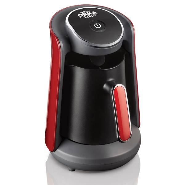 OK004-N OKKA Minio Turkish Coffee Machine - Pomegranate