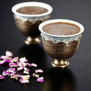 - OK905 OKKA İsmail Acar Coffee Cup Set of Two - White