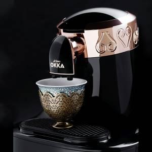 OK905 OKKA İsmail Acar Coffee Cup Set of Two - White - Thumbnail